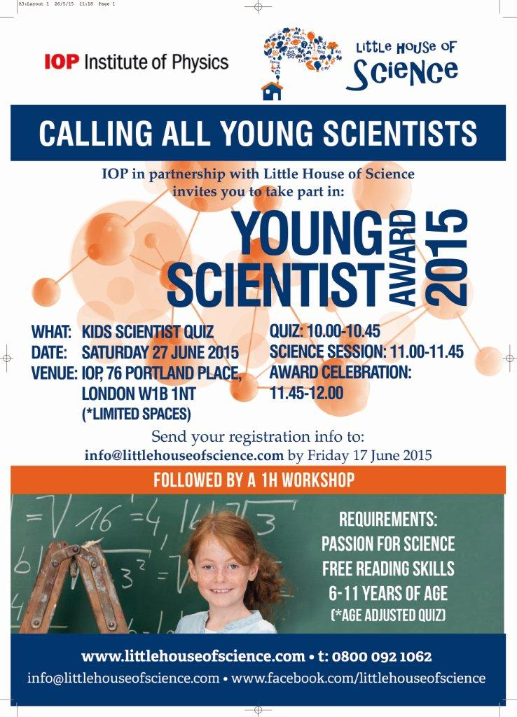 calling all young scientists